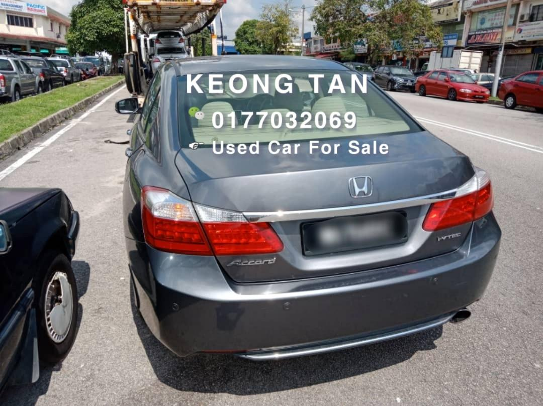 2014TH🚘HONDA ACCORD 2.0AT I-VTEC FULL LOAN/Cash💰OfferPrice💲Rm63,800 Only‼LowestPrice InJB‼Interested Call📲KeongForMore🤗