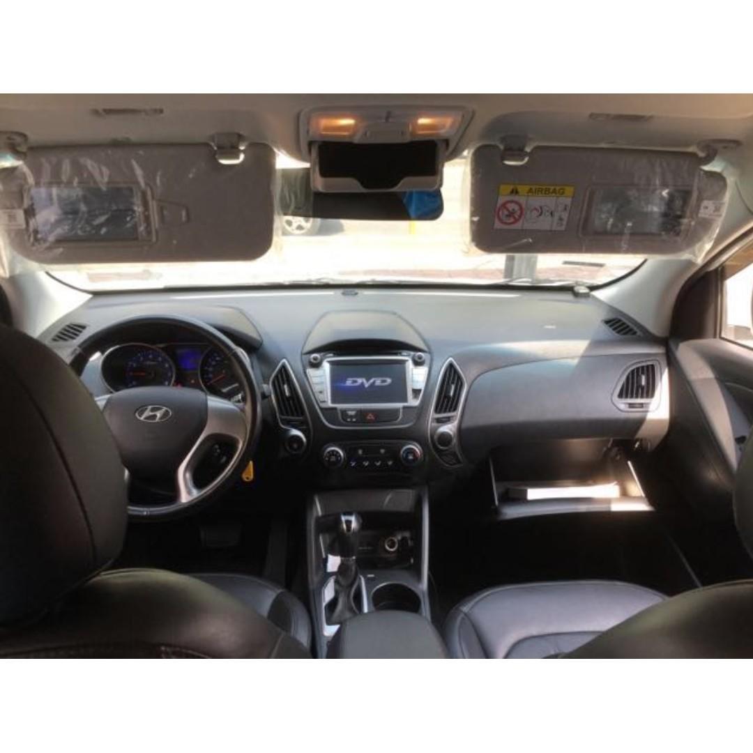 【精選超低里程優質車】2015年 HYUNDAI現代 IX35 2.0汽油版【經第三方認證】【車況立約保證】
