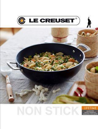 Le Creuset  Toughened Non-Stick 32 cm Wok