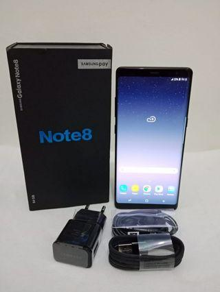 Samsung Note 8 Single Black Mulus No Minus