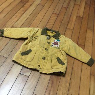 二手 6號 約5歲 男童冬天厚外套微鋪棉外套