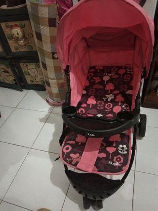 Stroller Pink Flower