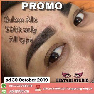 Sulam Alis Bibir Eyeliner