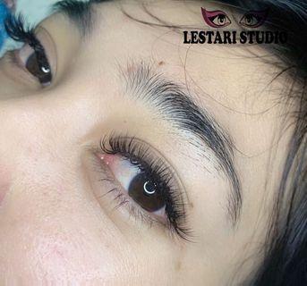 eyelash extension extention tanam bulu mata