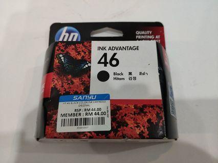 HP Ink Cartridge 46 Black