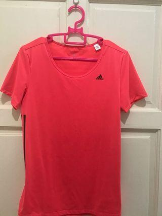 Adidas Sport Wear Top Pink Peach