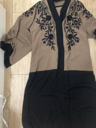 Abaya dubai abaya embroidered