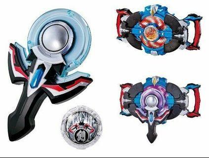 Ultraman R/B Orb Ring NEO &  Rube Gyro
