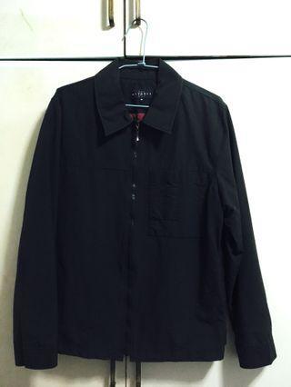 藏青色 風衣外套 工作風  M號 專櫃商品