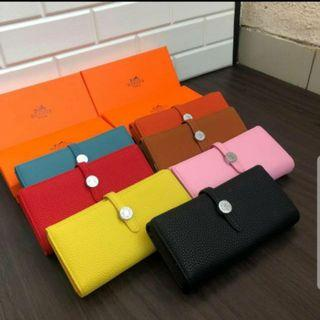 Dompet Hermes with box