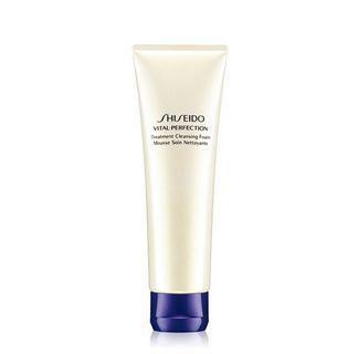 Shiseido全效抗痕亮采賦活潔膚乳 VITAL PERFECTION Treatment Cleansing Foam