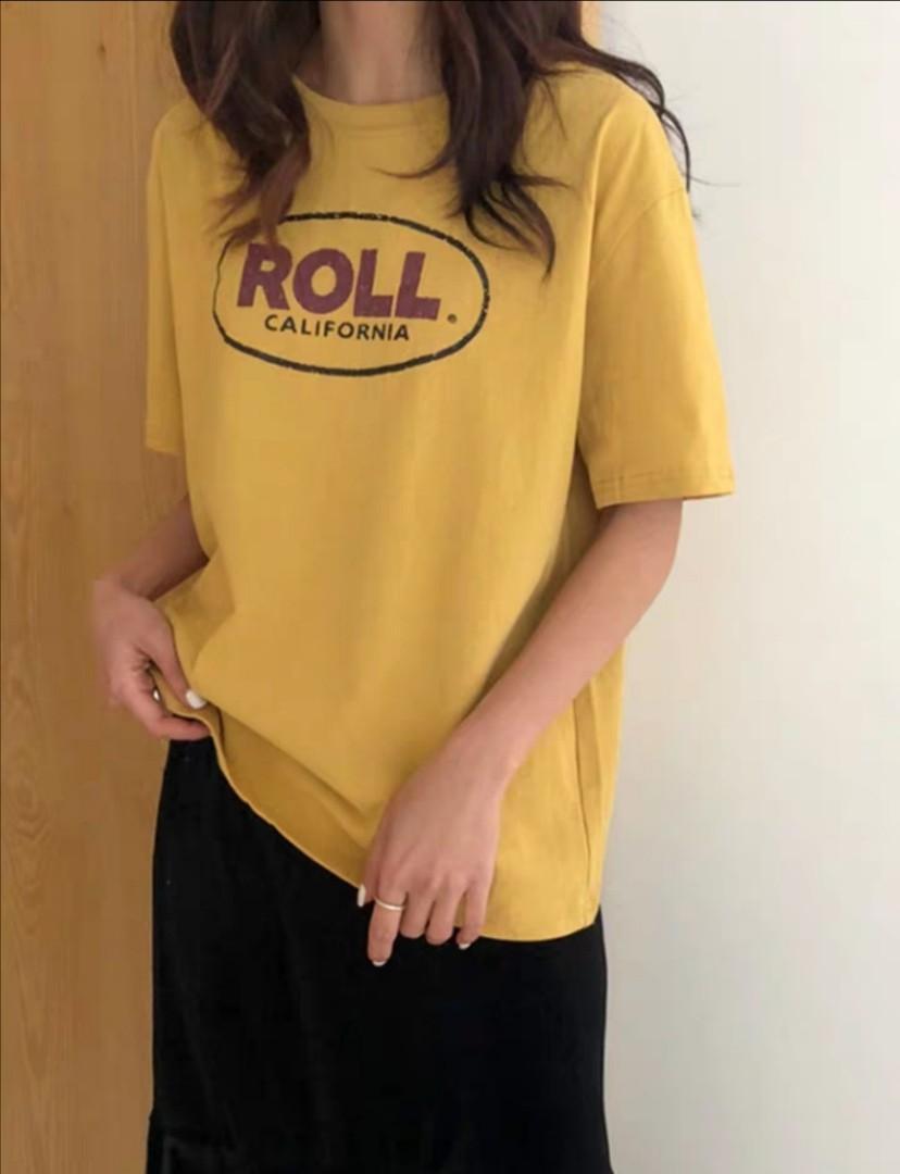"[3 COL] ""Roll California "" short sleeve tee"