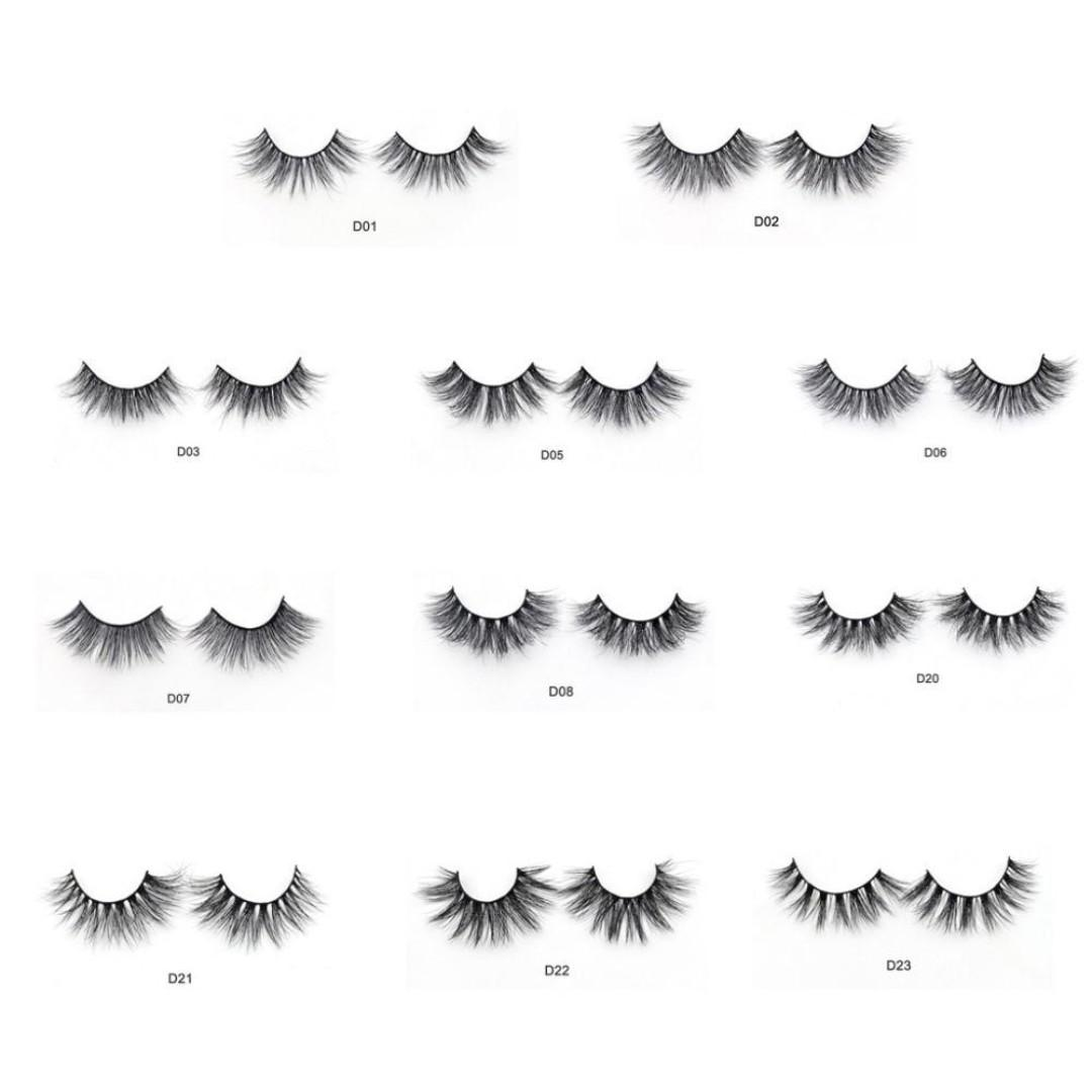 3D Mink Natural Eyelashes | Hand Made | Brand New Ready Stocks | Sale