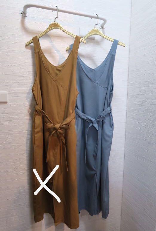 超顯瘦氣質綁帶洋裝