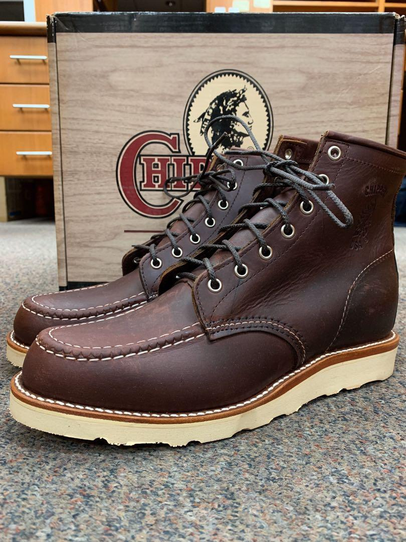 Chippewa Boots MOC US8.5D Cordovan 90092 Rare