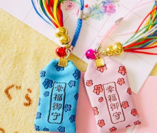 預訂㊗️福小物 2019🐱日本和服貓咪幸福祈願 刺繡御守 幸運護身符 新年賀年 開學 祝福賀禮