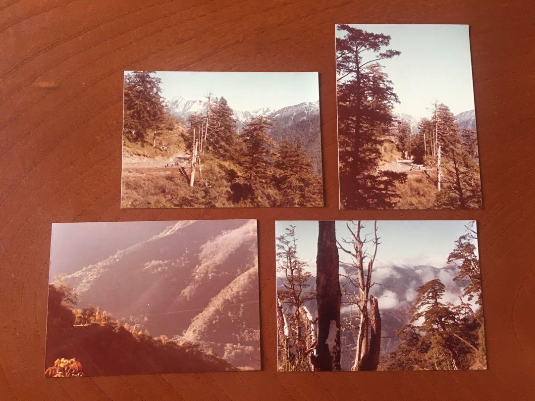 1968攝》臺灣山岳 雪季》共34張照片(尺寸:12.5x9公分)