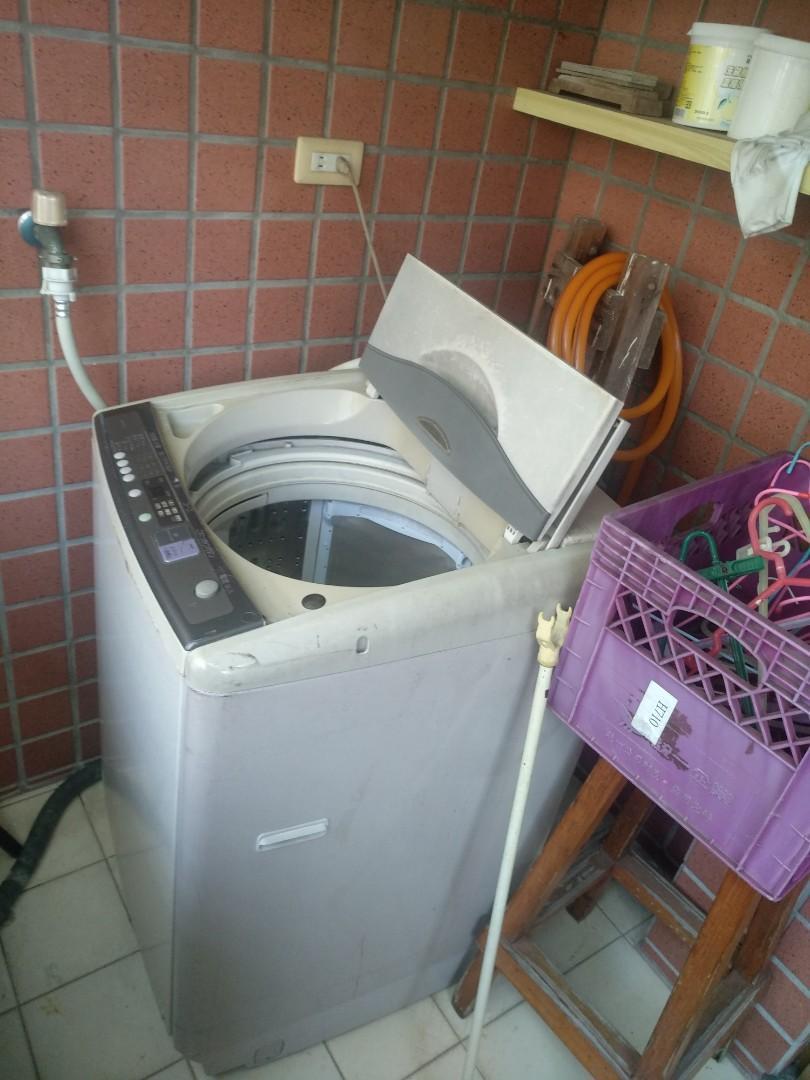 公寓自售洗衣機 限淡水自取 正常使用喜歡在談 非店家