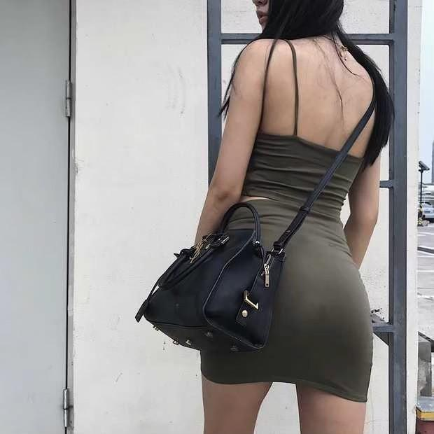 歐美修身顯身材 包臀半身裙 短裙 迷你裙 包臀裙