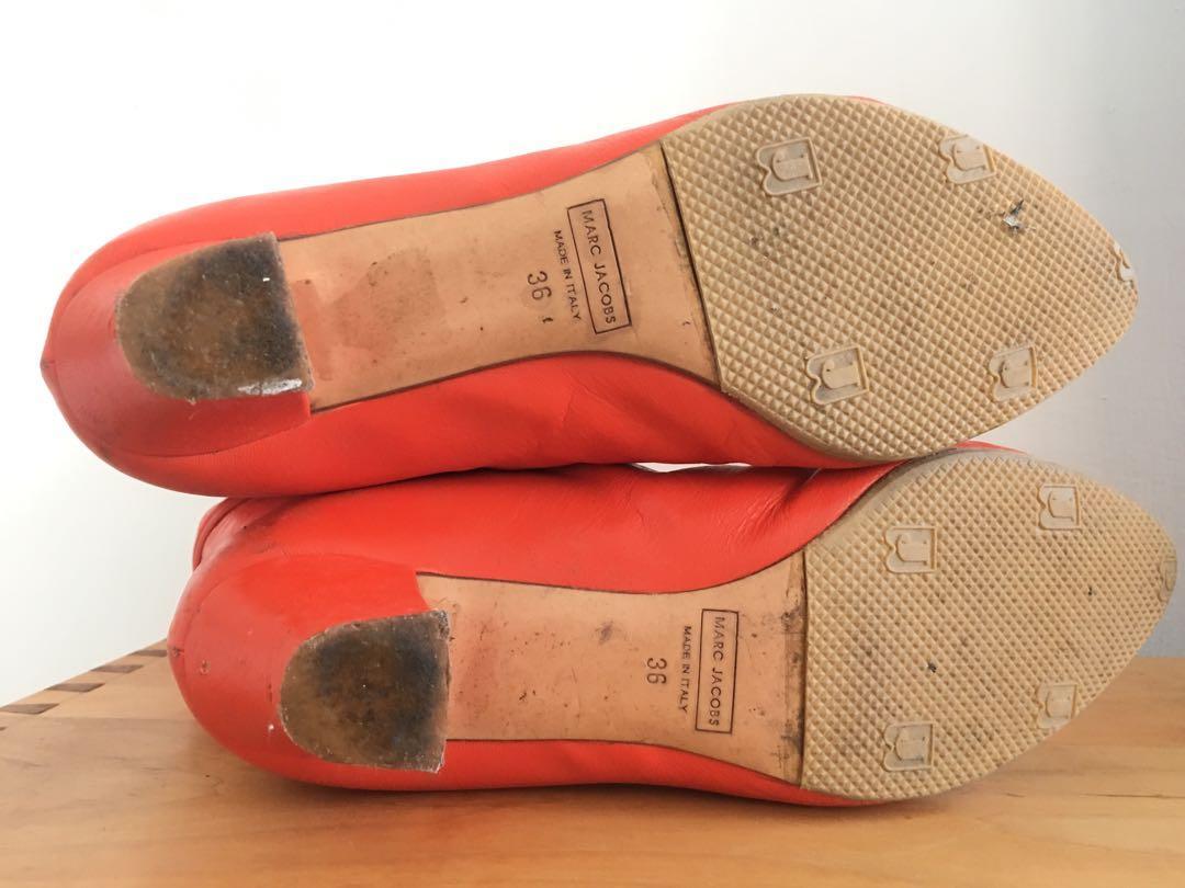 義大利製 Marc jacob 小羊皮毛毛短靴