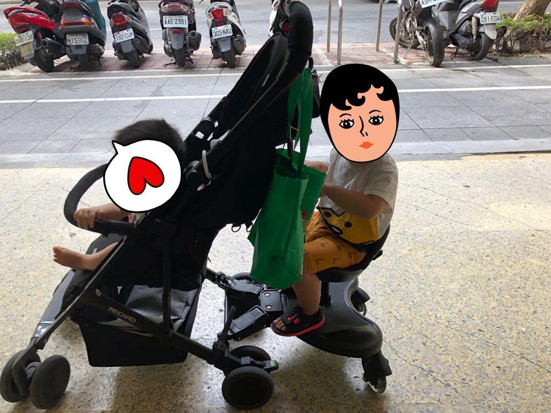 二寶神器 輔助輪站or坐(不含推車)