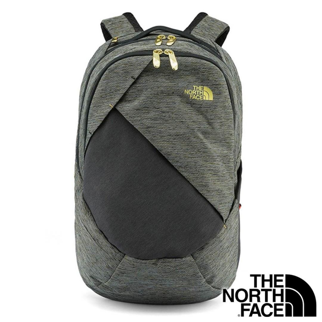 日本 The North Face 灰色牛津布 ISABELLA 21L 手提電腦 背囊