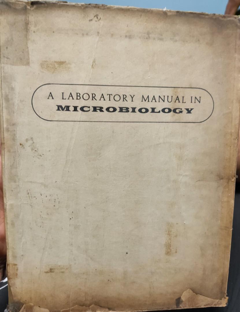 A Laboratory Manual in Microbiology by Niño, Sancho, Solevilla & De Guzman, 1st Ed., 1970