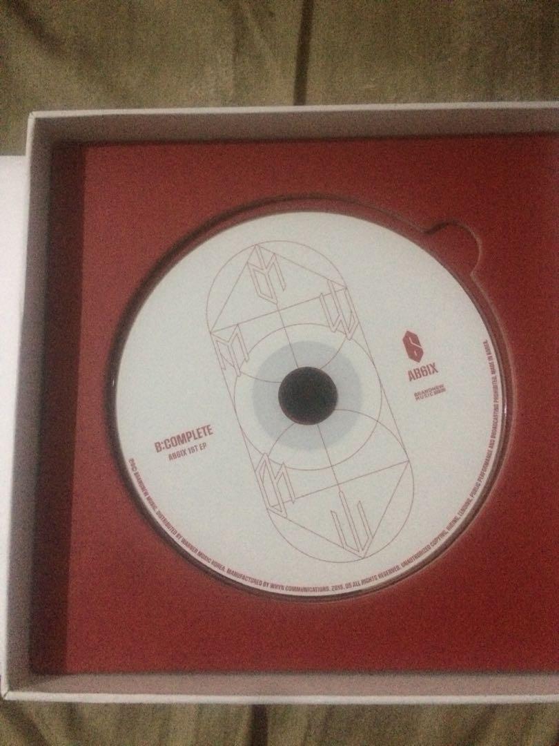 AB6IX B:COMPLETE ALBUM [I Ver.] (Donghyun Set + Poster)