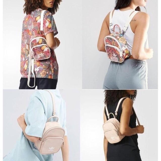 Adidas women ladies fashion mini backpack
