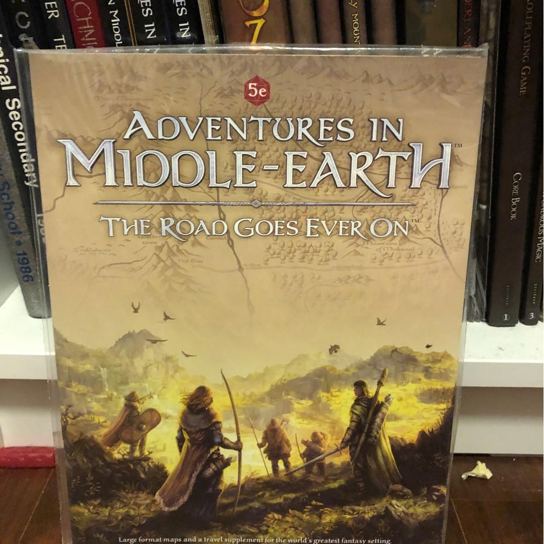 Adventures in Middle-Earth Road Goes Ever On