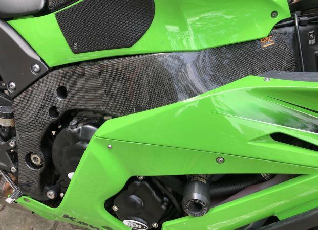 AMC Carbon Frame Cover Kawasaki ZX10R 2011-2019