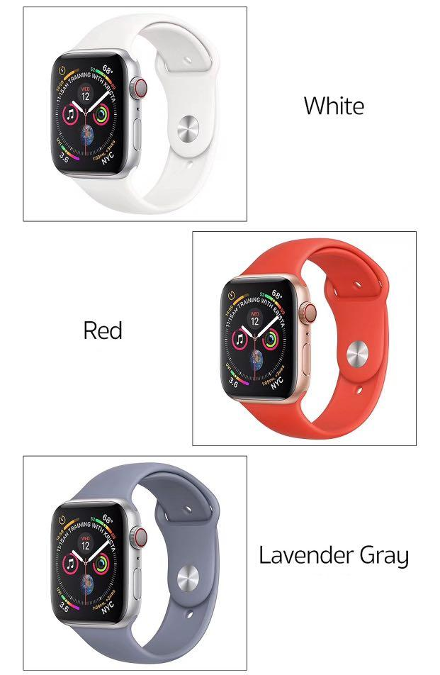 Apple Watch Strap (Silicone)