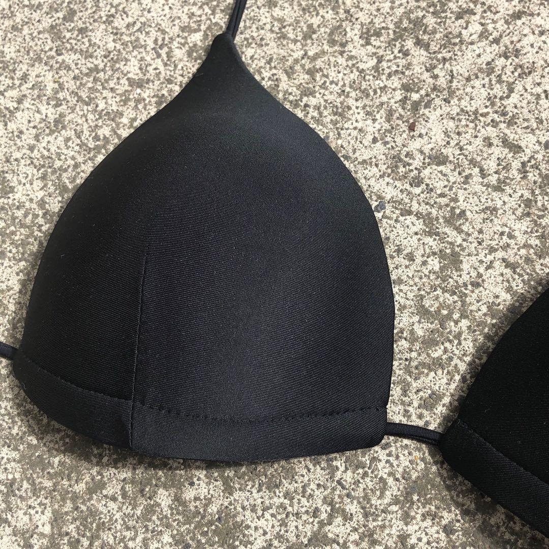 Black Bikini Top  - ( Price includes free standard postage within Australia