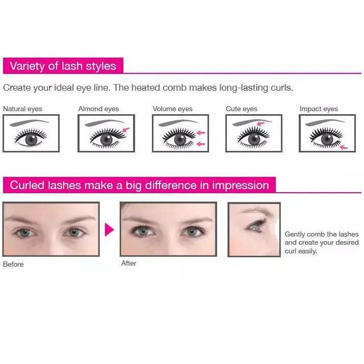 Catokan Tescom NTIR 1805 free eyelash curler panasonic