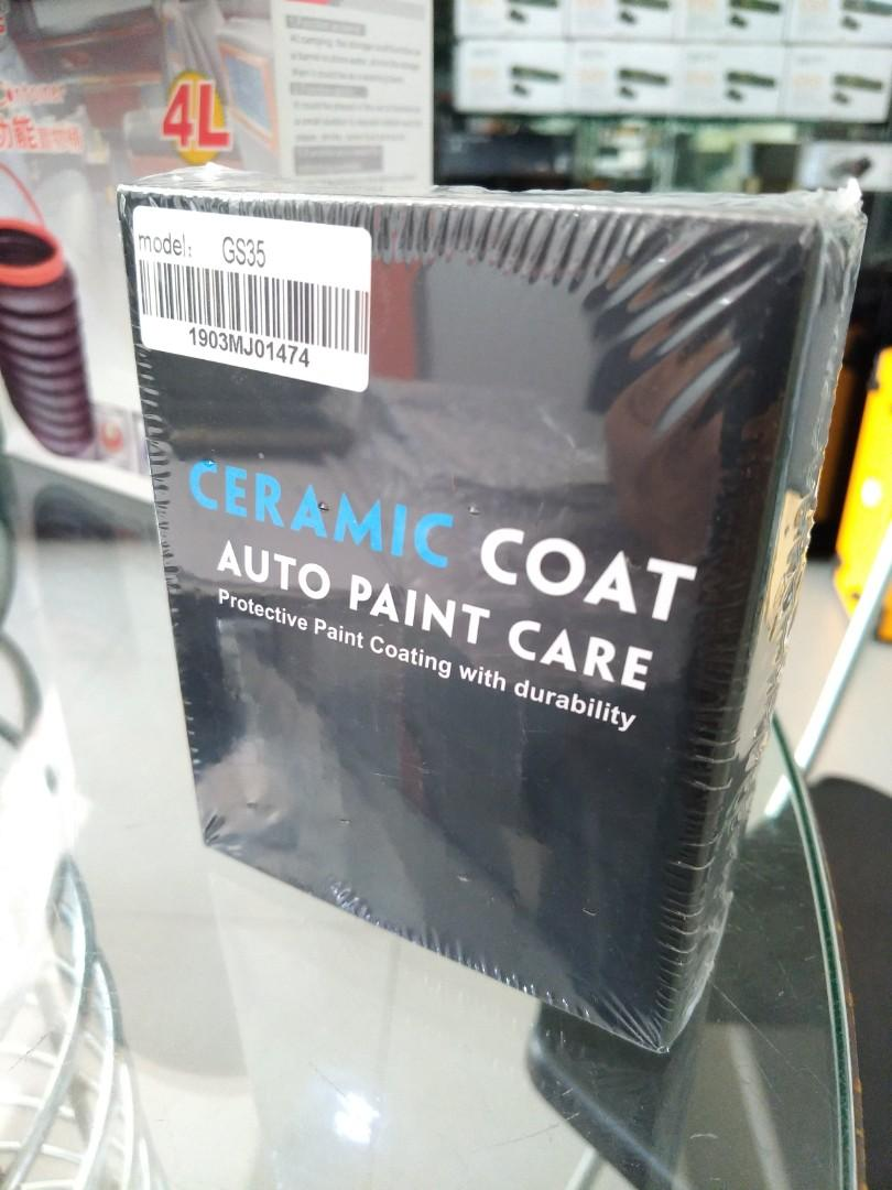 Ceramic coat paint care