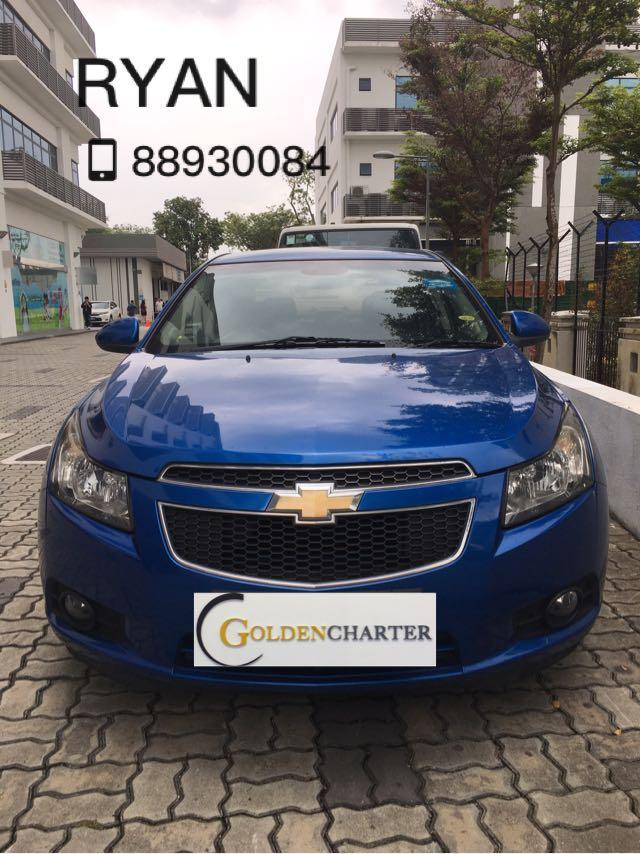 Chevrolet Cruze 1.6A! Weekly rental rebate $150 available !