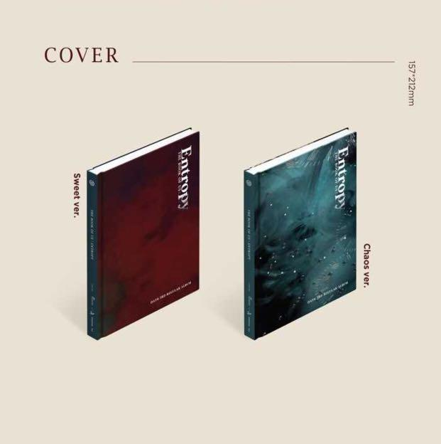 Day6 3rd Regular Album <The Book Of Us : Entropy>