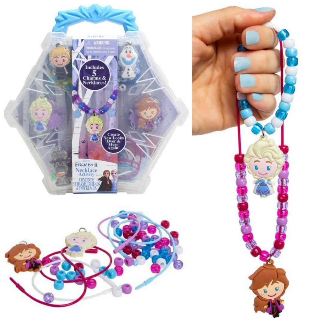 Disney Frozen DIY串串珠項鏈套裝