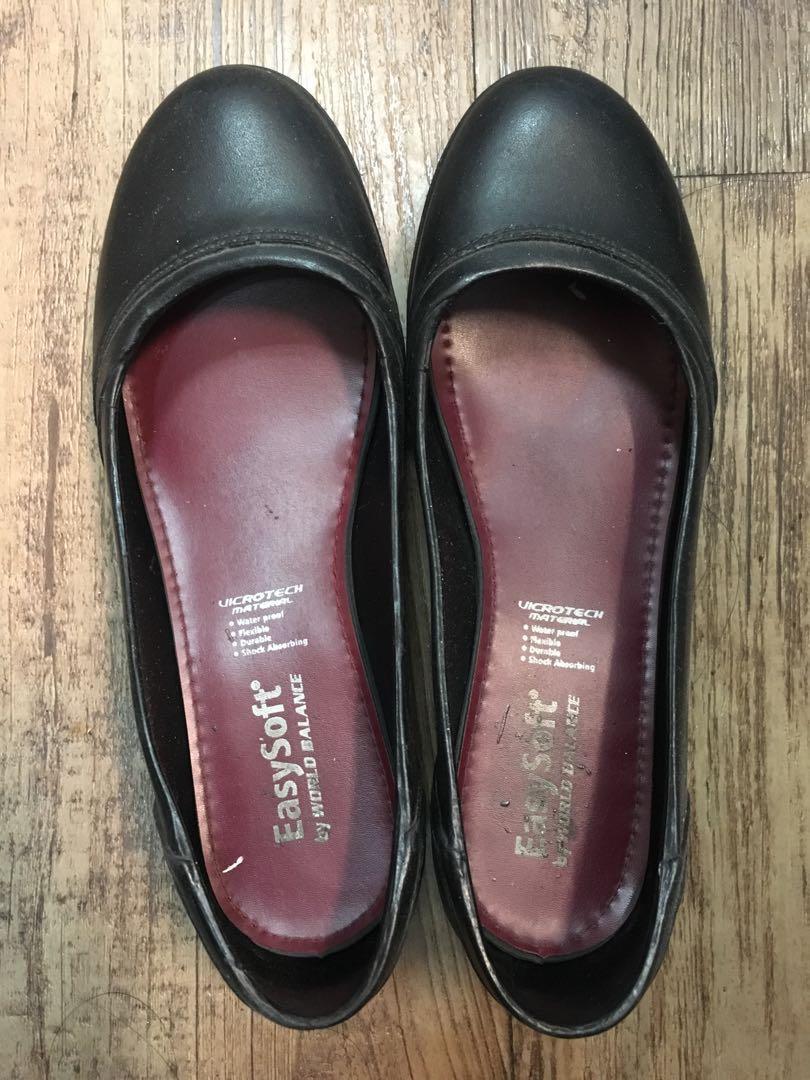world balance easysoft black shoes price
