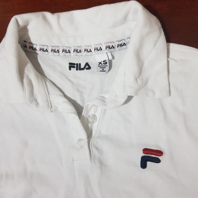 Fila cropped polo