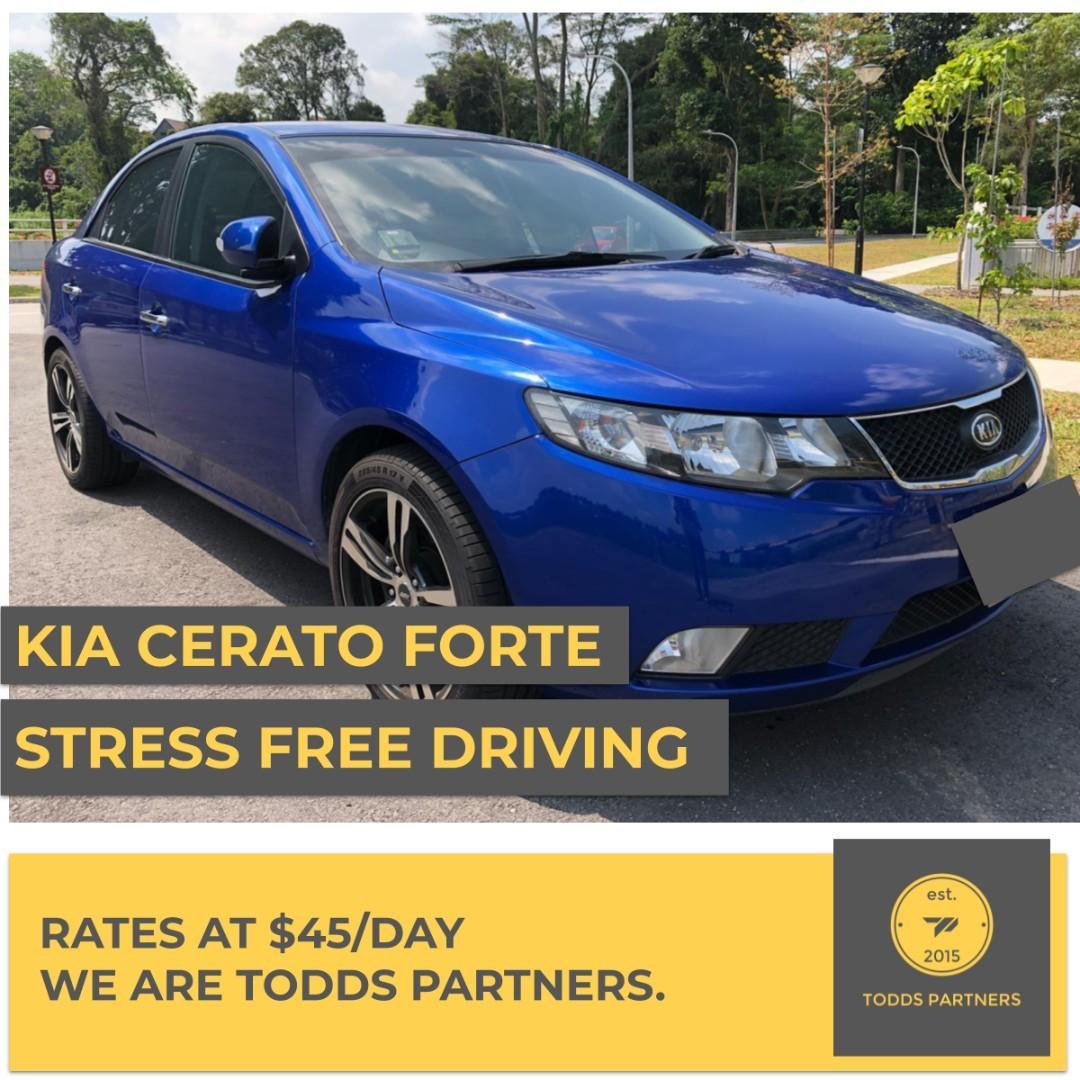 For Grab/GoJEK - Kia Cerato Forte