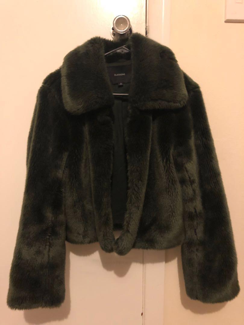 Glassons Faux Fur Coat