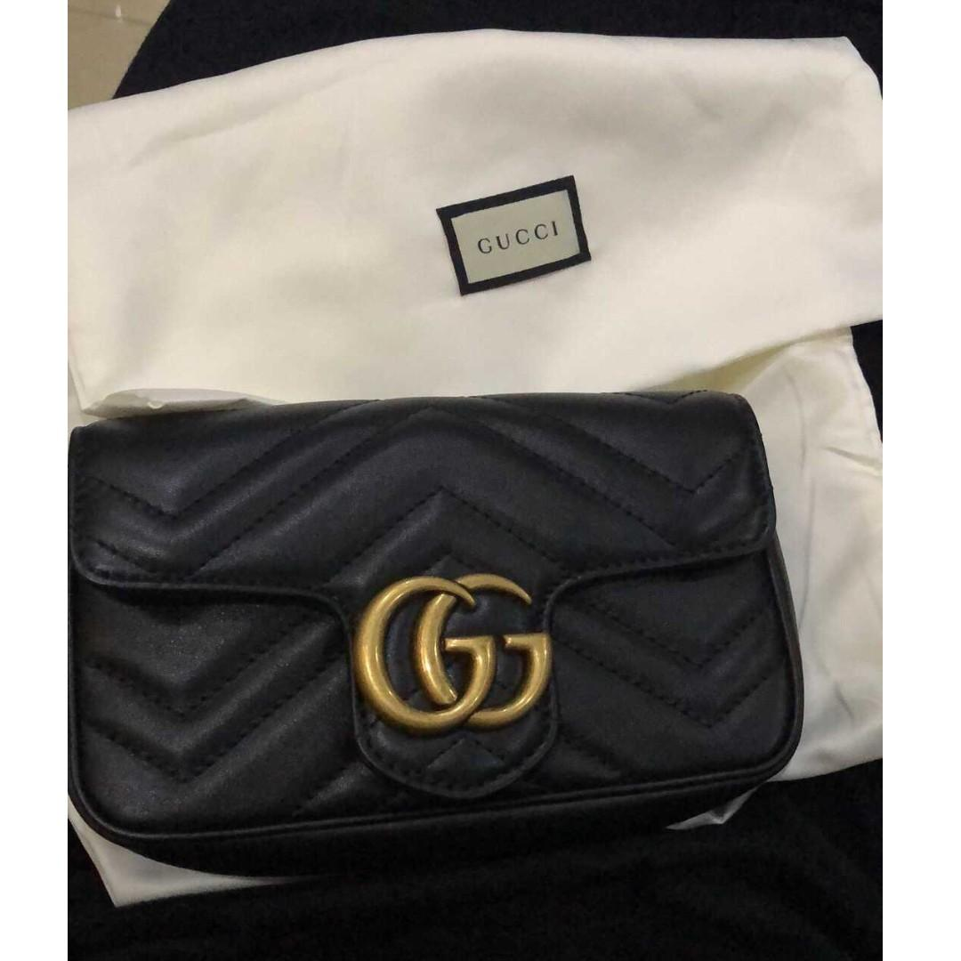 GUCCI MINI 拉鏈包