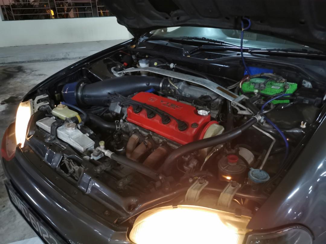 Honda Civic 1.6 4A Auto