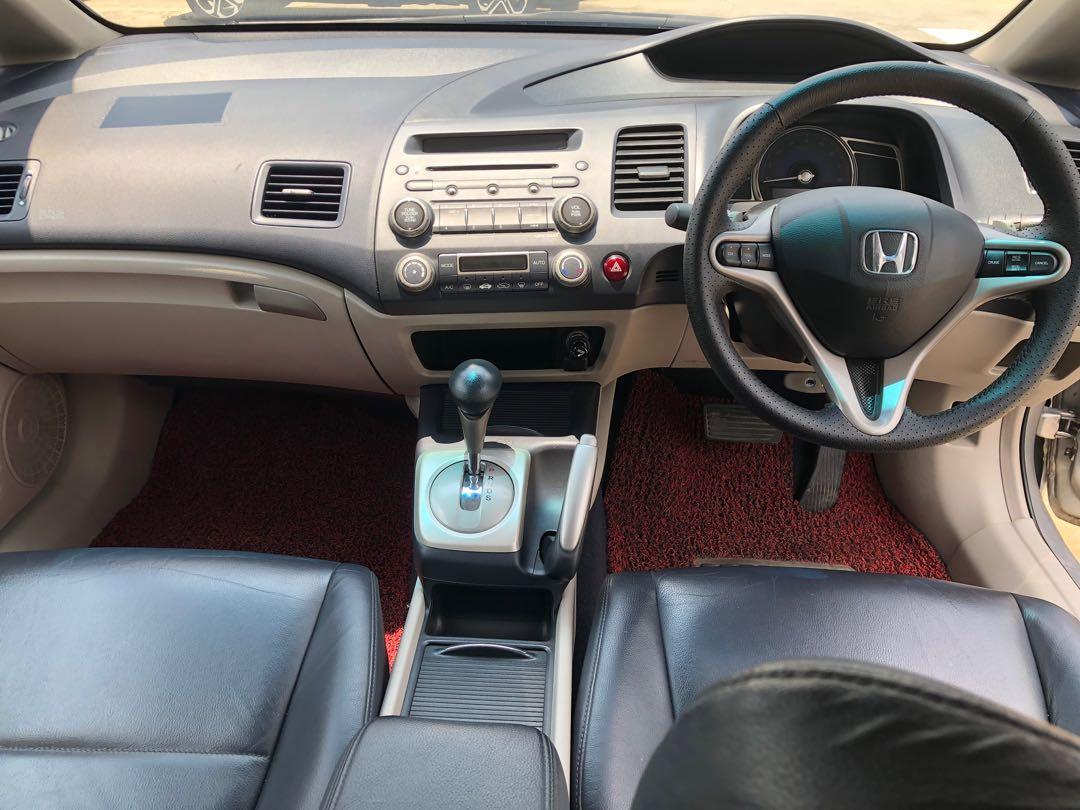 Honda Civic 2008 2.0 paddle sift