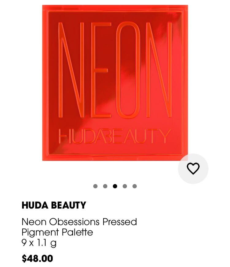 HUDA BEAUTY OBSESSION NEON