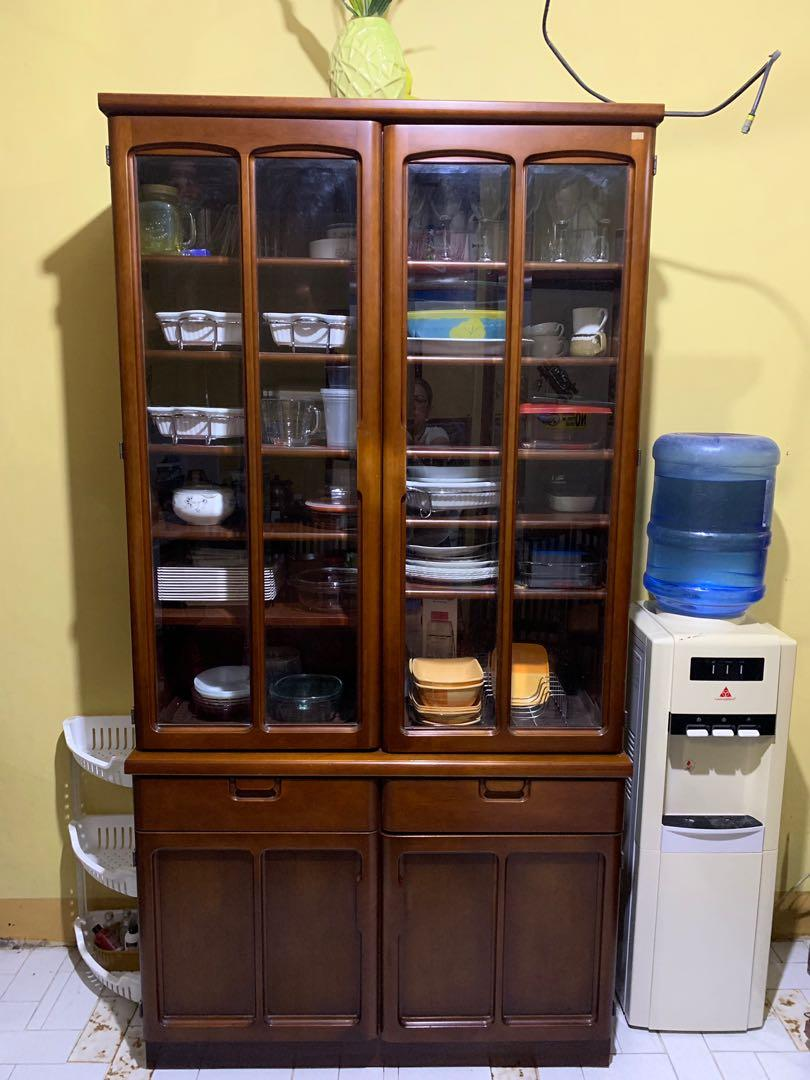 Japan Made Kitchen Cabinet Sale Home Furniture Furniture Fixtures Others On Carousell
