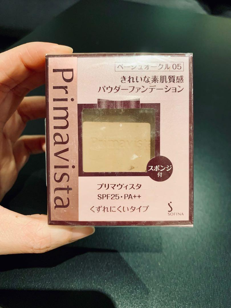 JAPAN SOFINA Primavista Dea Skin color tone up powder foundation 05(natural colour )