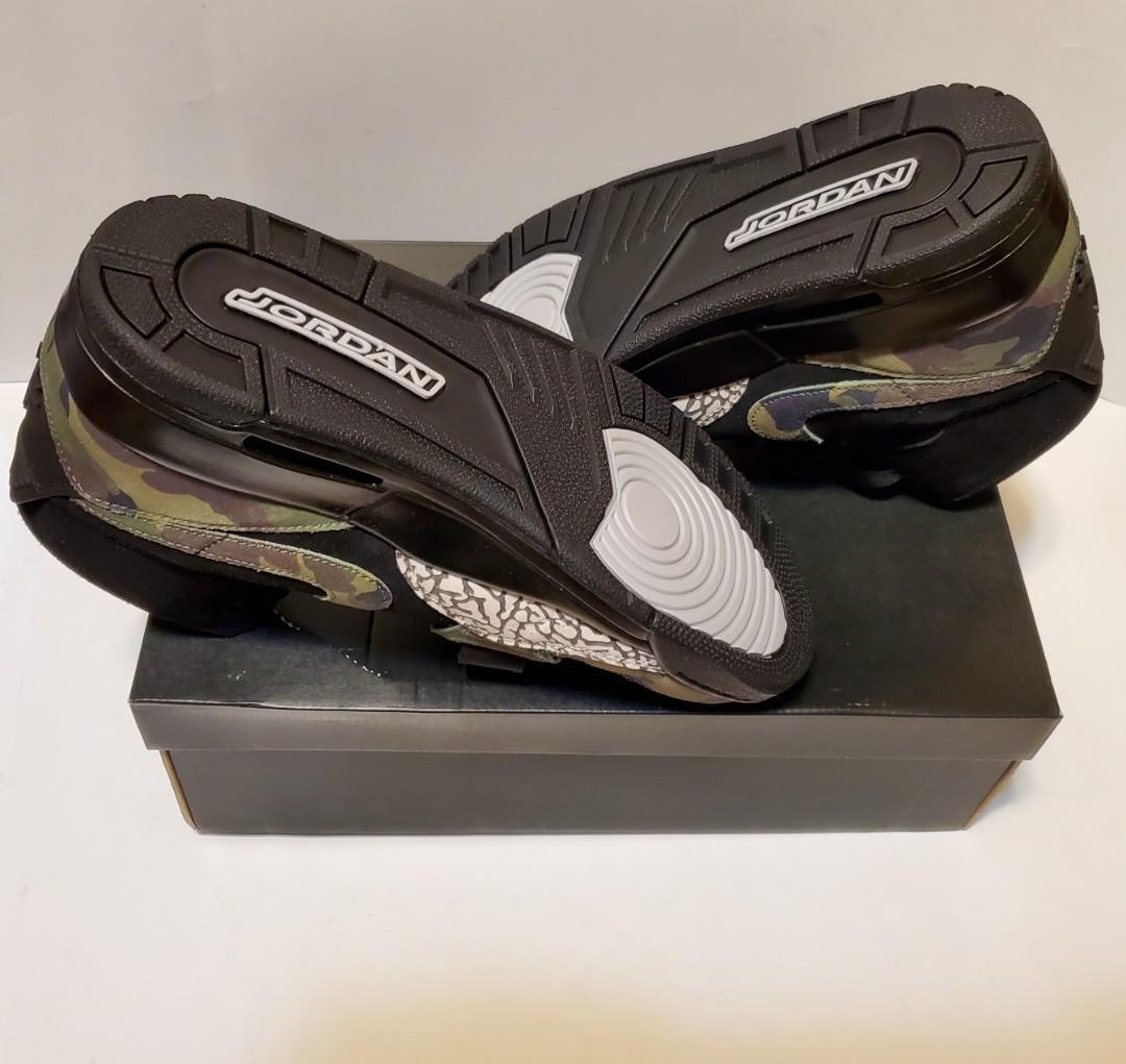 Jordan  Air Legacy 312 Mens Shoes Black/Camo Green
