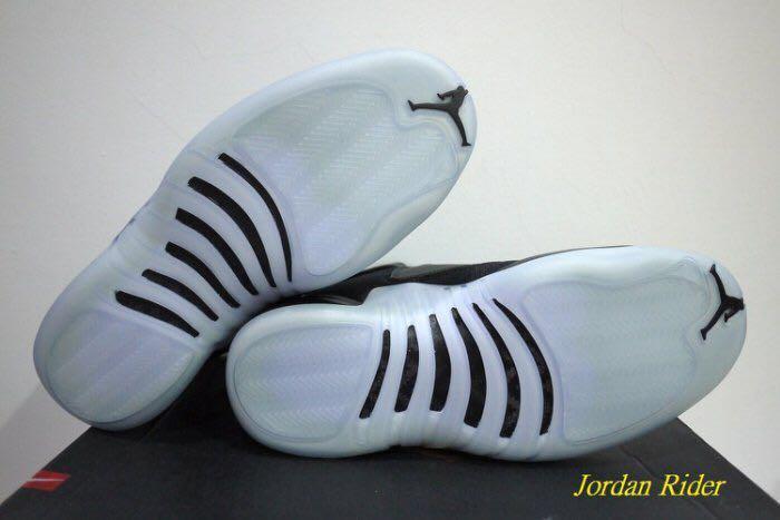 Jordan Rider 喬丹騎士 NIKE Air Jordan Generation 23 AJ 12代鞋底 運動休閒鞋 全黑 銀色飛人 果凍冰底 XII